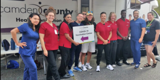 Initiative to Deliver COVID-19 Vaccinations to Camden County Residents Where They Live and Congregate.