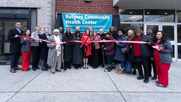 Rutgers Community Health Center Celebrates New Location with Ribbon-Cutting