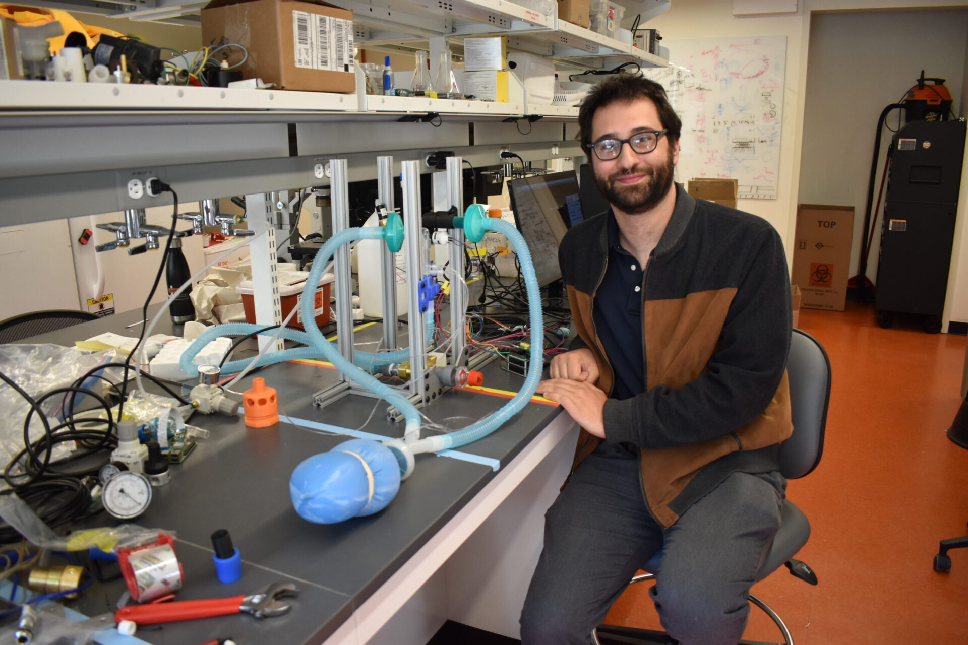 Tom Zajdel: From Skin Wounds to Ventilators