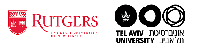 Rutgers and Tel Aviv Universities Joint Scientific Symposia on November 9th